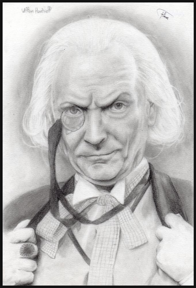 William Hartnell by Asuky